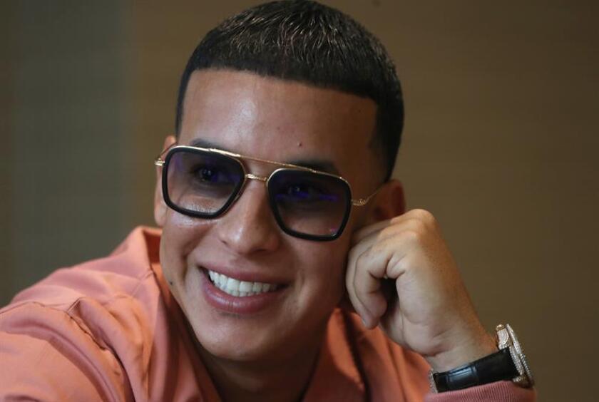 Fotografía de archivo del cantante y empresario puertorriqueño, Daddy Yankee. EFE/Archivo