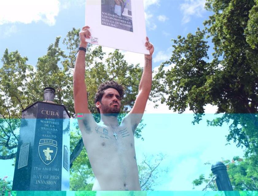 """La abogada, vinculada a HRF y que intentó interceder por el grafitero opositor Danilo Maldonado """"El Sexto"""", fue víctima de un """"arresto abusivo"""" en Cuba, según señaló. EFE/ARCHIVO"""