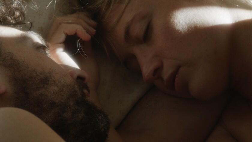 """Alvaro Ogalla and Marta Larralde in the movie """"The Apostate."""""""