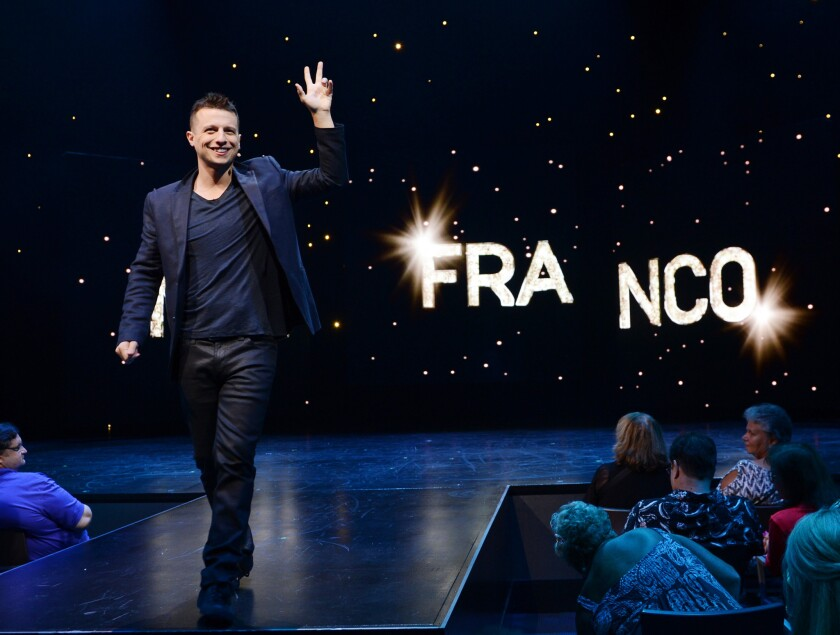 Mat Franco rolls out his new magic show at The Linq.