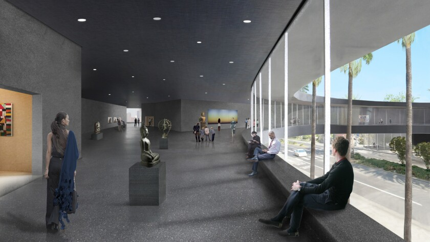 Peter Zumthor's vision for LACMA