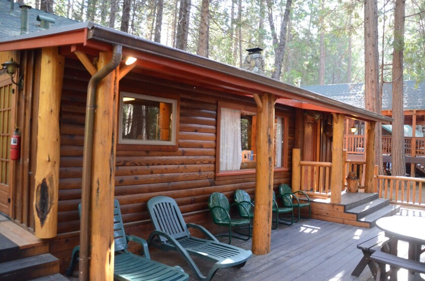 The Redwoods in Yosemite is a collection of vacation rental cabins in Yosemite National Park's Wawona area.