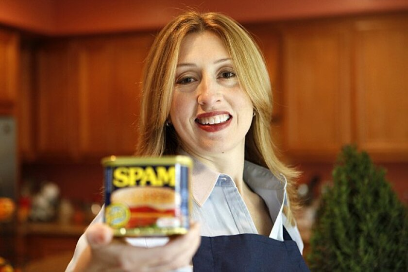 Stacy Slagor is this year's Great American Spam champion, thanks to her recipe for Spam fajitas.