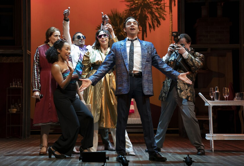 Merrily We Roll Along Roundabout Theatre Company