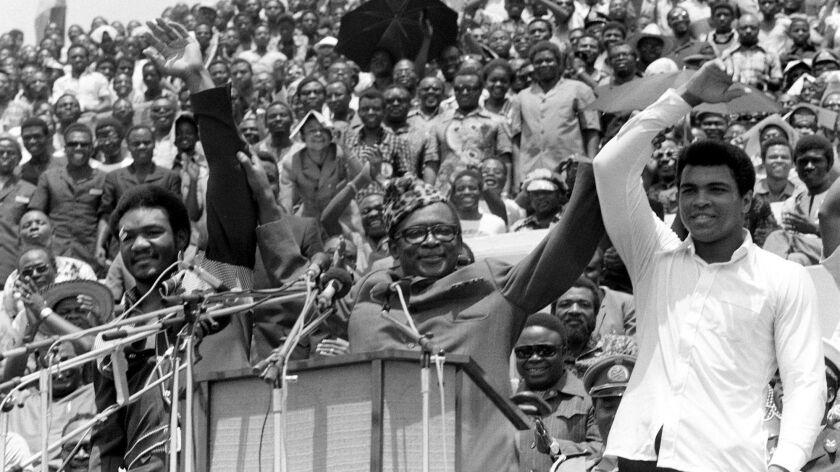 Muhammad Ali, George Foreman, Mobutu