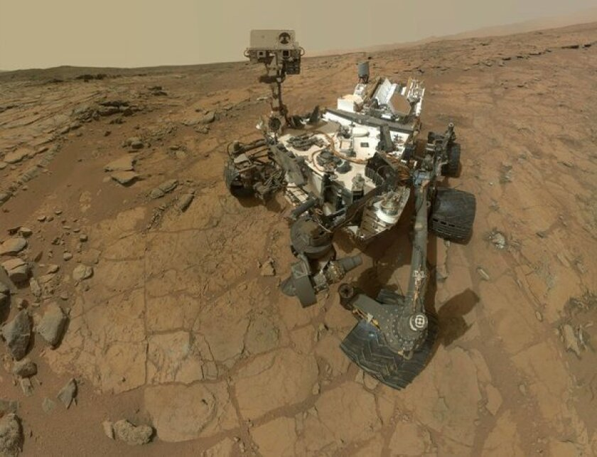 NASA Mars Curiosity rover gets to work on 'spring break' chores