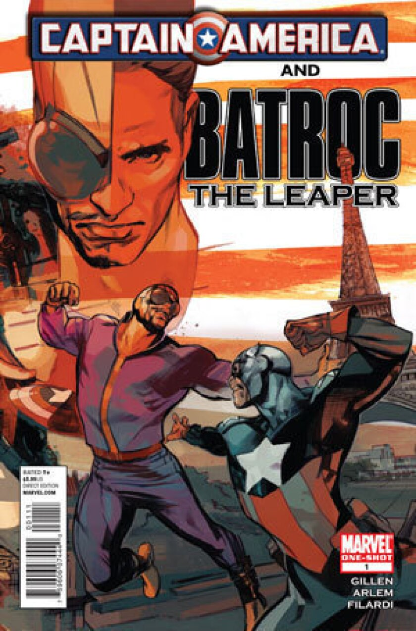 Georges St. Pierre will play Captain America foe Batroc the Leaper.