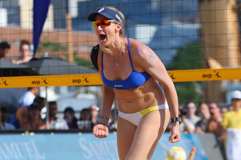 Kerri Walsh Jennings will try for her fourth gold medal in beach volleyball at 37.