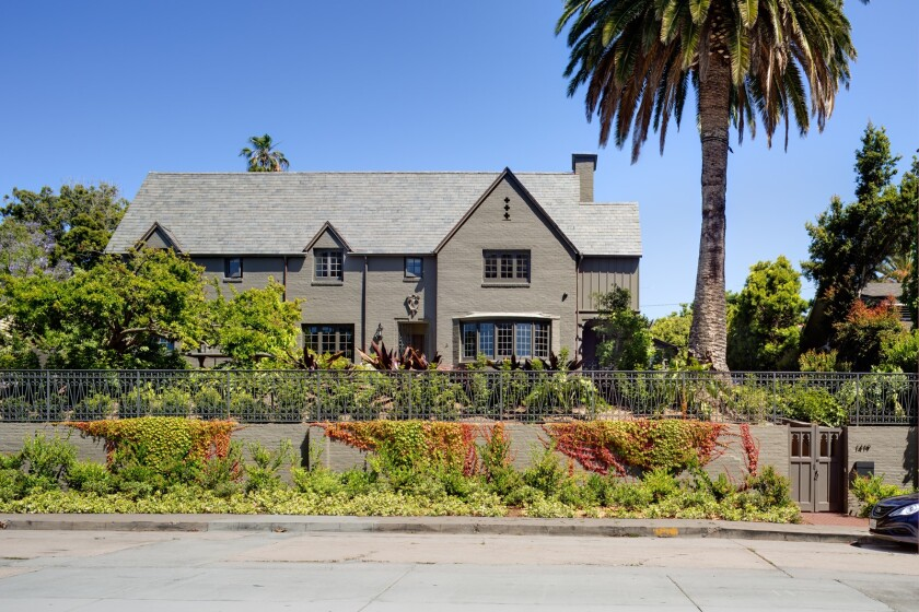 The Anna Vickers house at 1419 Virginia Way in La Jolla.