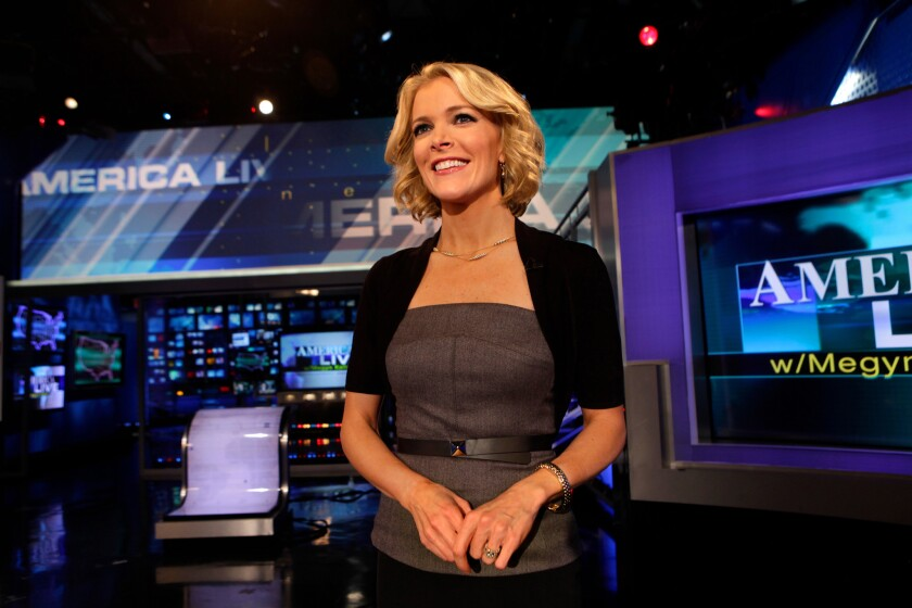 Anchor Megyn Kelly of FOX News Channel.