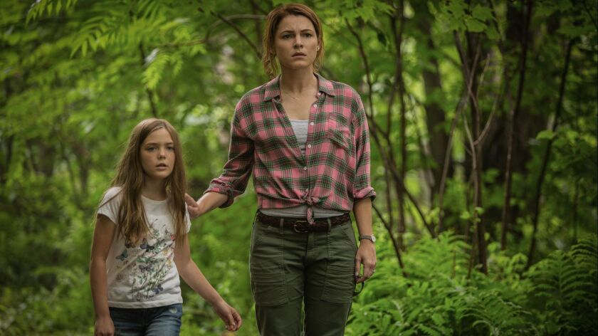 (L-R)- Jet? Laurence as Ellievand Amy Seimetz as Rachel in PET SEMATARY, from Paramount Pictures. C