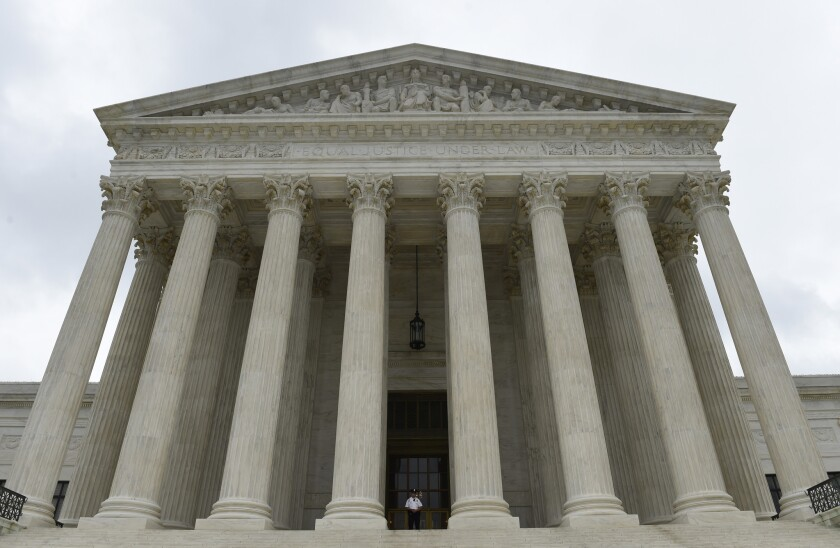 The Supreme Court is expected to decide this week on an Ohio early-voting case.