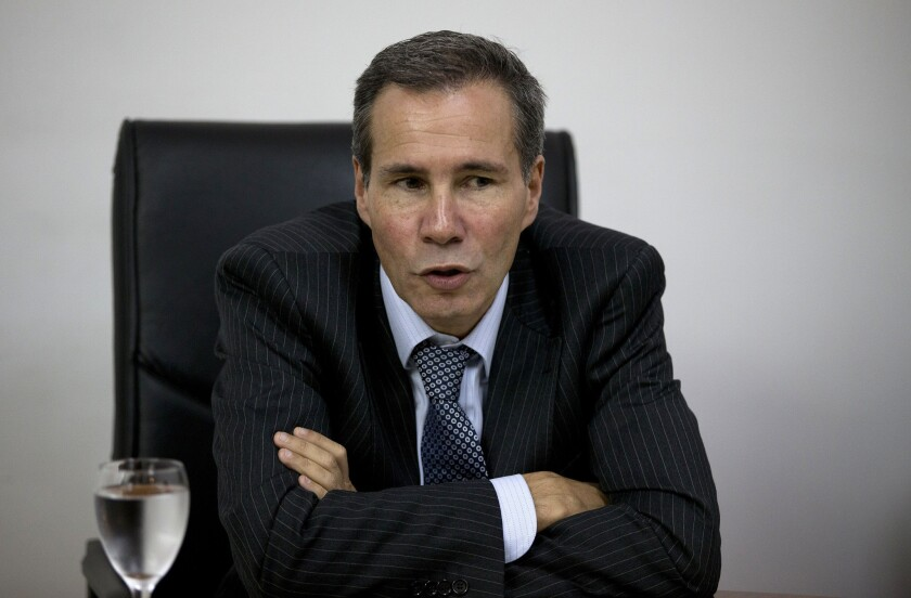 "Alberto Nisman in 2013. The Argentine prosecutor's grisly 2015 death is the subject of the Netflix docuseries ""Nisman: The Prosecutor, the President and the Spy."""
