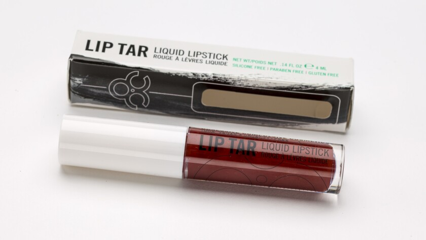 Obsessive Compulsive Cosmetics' Lip Tar Liquid Lipstick.