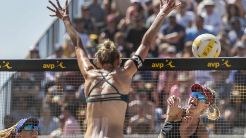 April Ross teams with Alix Klineman to win at AVP Huntington
