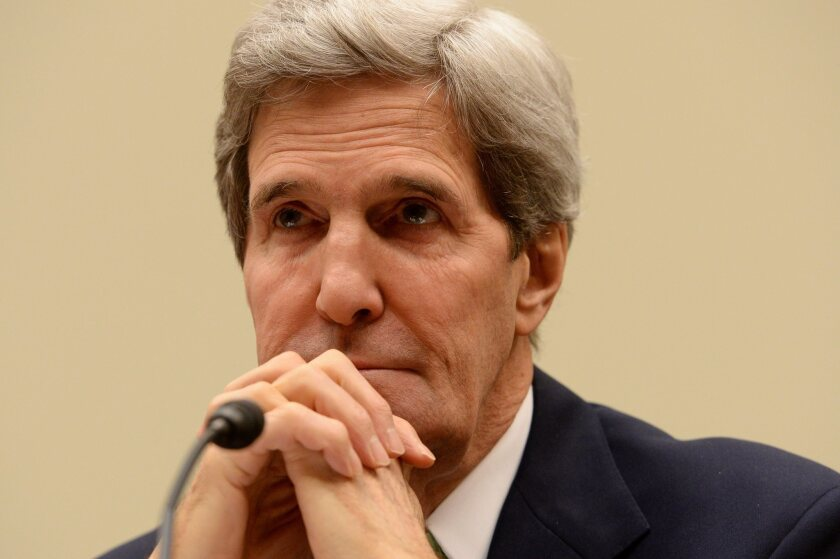 """Secretary of State John Kerry at the House Foreign Affairs Committee hearing """"The Iran Nuclear Deal -- Does it Further US National Security?"""""""