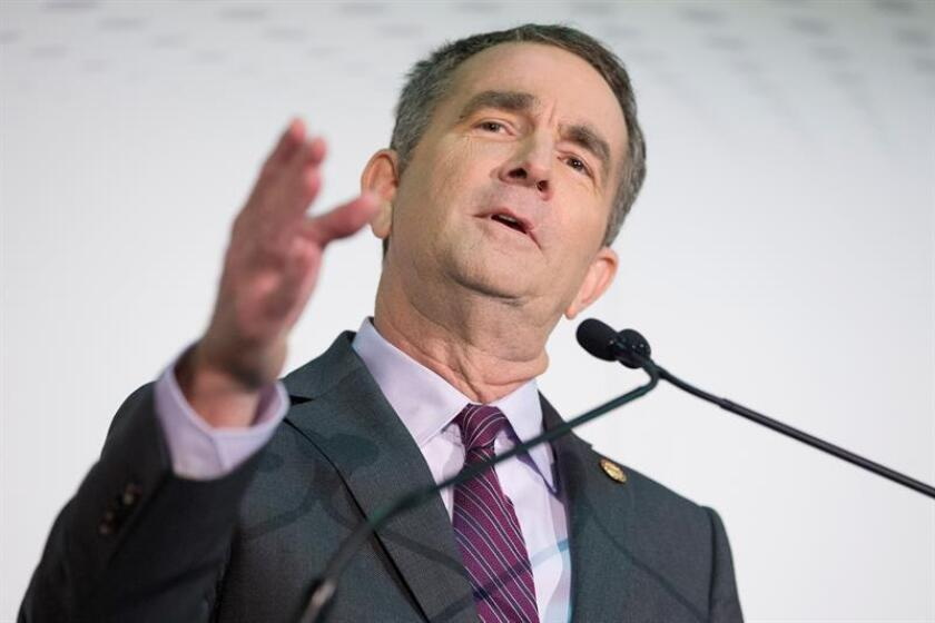 Governor of Virginia Democrat Ralph Northam speaks at an announcement on Amazon Inc.'s new second headquarters, in Pentagon City, Arlington, Virginia, USA, 13 November 2018. EFE/EPA/File