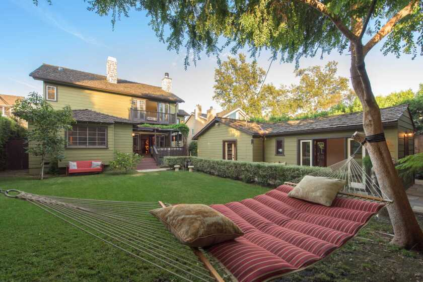 Karen Sillas and Ivan Menchell's Brentwood home