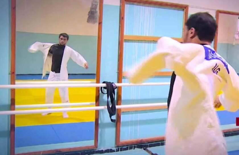 Fethi Nourine, judoca argelino.