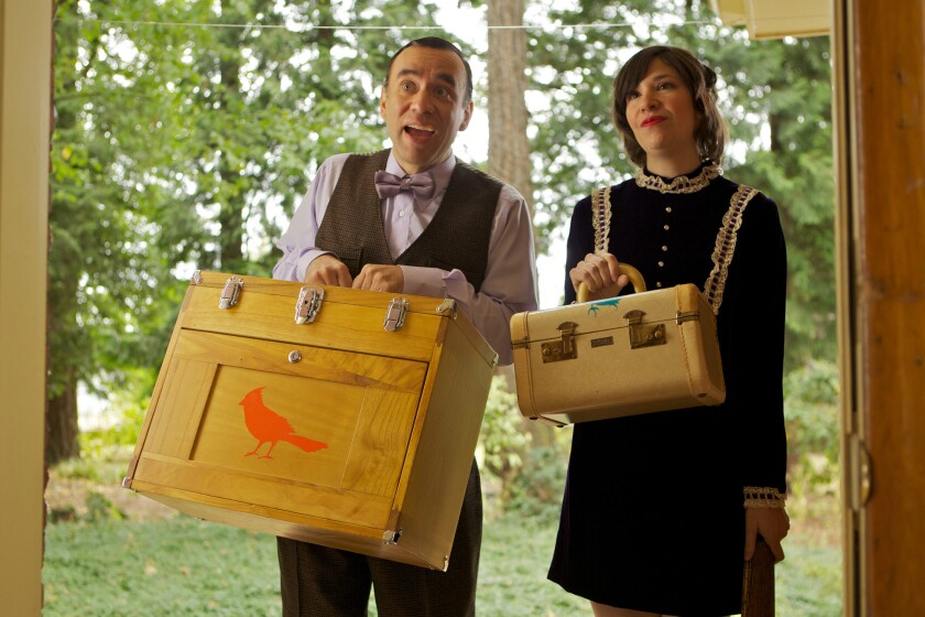 """""""Portlandia,"""" starring Fred Armisen and Carrie Brownstein, returns Feb. 27 for a 10-episode fourth season."""