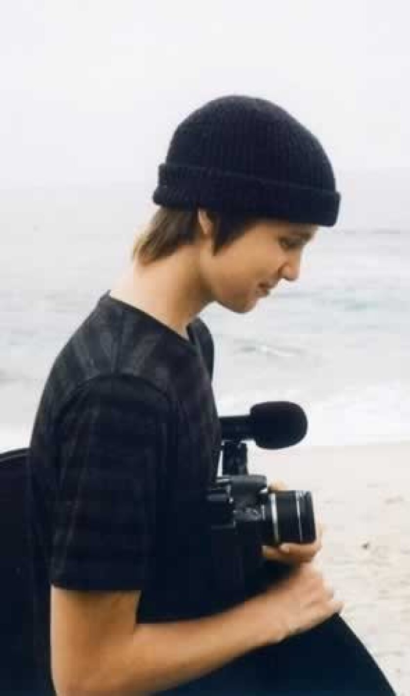 Aspiring filmmaker Julian Clark. Courtesy