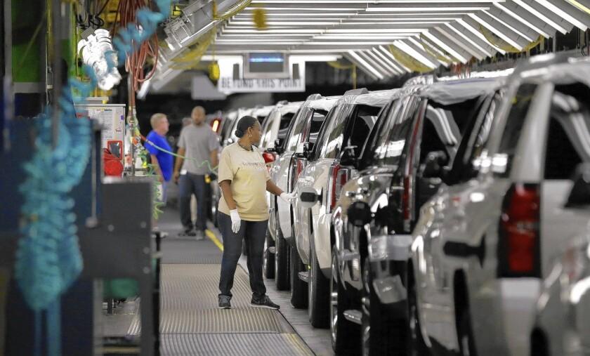 Automakers post big sales gains