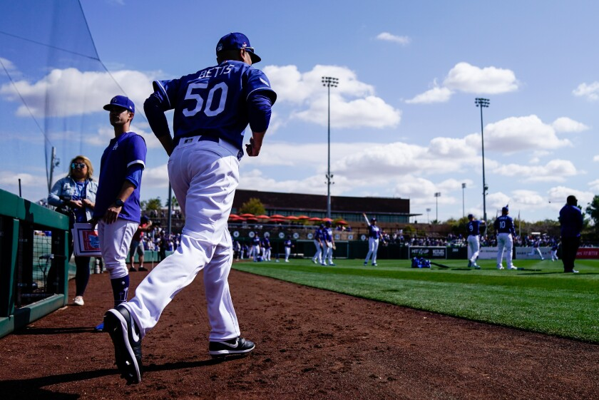 Camelback Ranch, home to the Dodgers and White Sox during spring training, could host games should MLB begin its season with all teams in the Phoenix area.