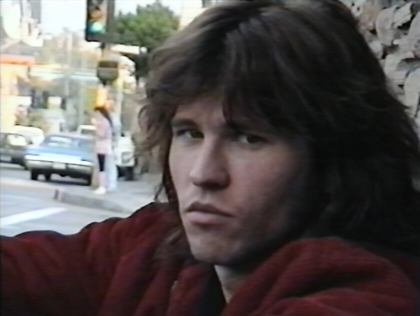"""This image provided by A24 shows Val Kilmer in a scene from the documentary """"Val."""" (A24 via AP)"""