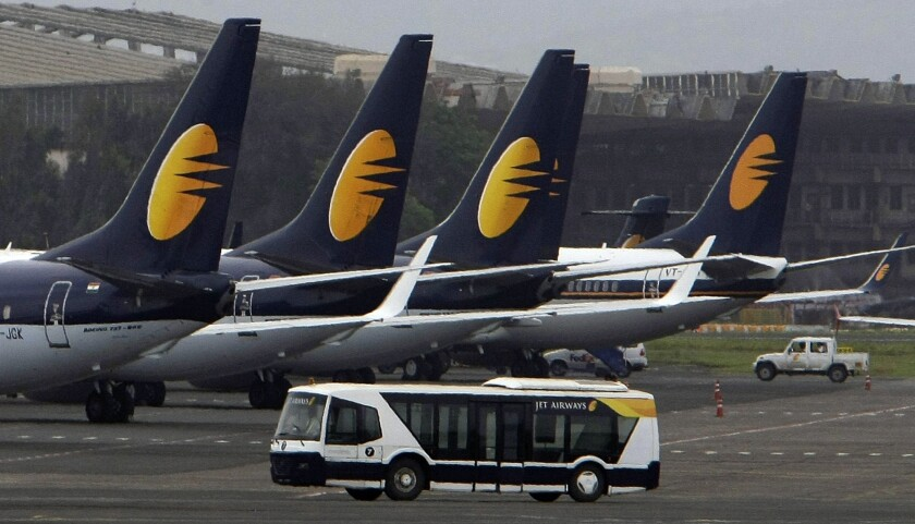 A Jet Airways flight leaving Mumbai had to return to the terminal after air pressure problems caused passengers to bleed from the nose and ears.
