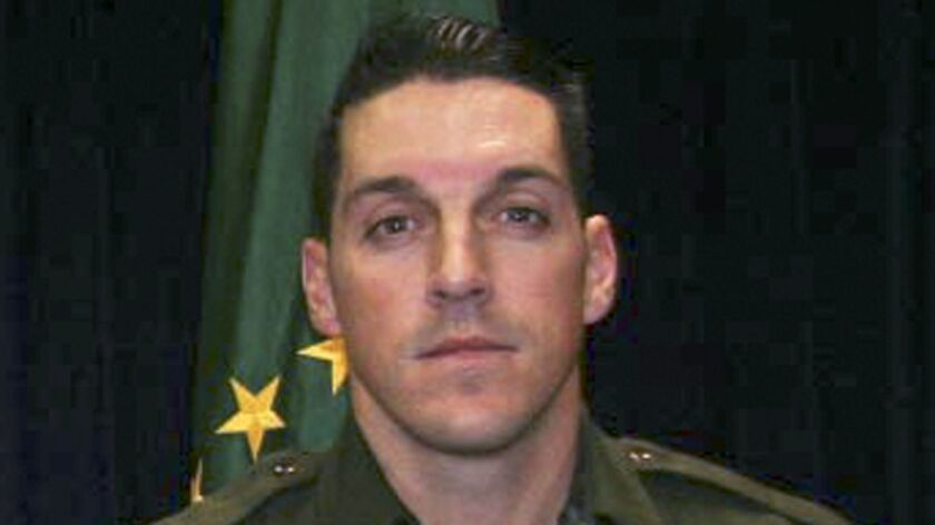 This undated photo provided by U.S. Customs and Border Protection shows Border Patrol Agent Brian A. Terry.