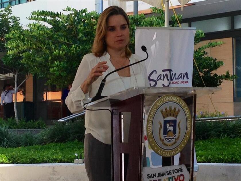 La alcaldesa de San Juan de Puerto Rico, Carmen Yulín. EFE/Archivo