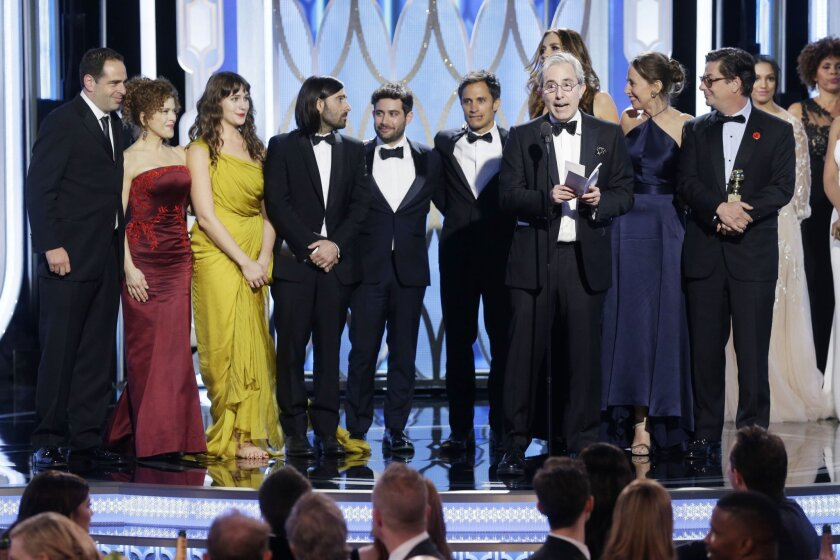 'Mozart in the Jungle' wins Golden Globe for TV comedy series