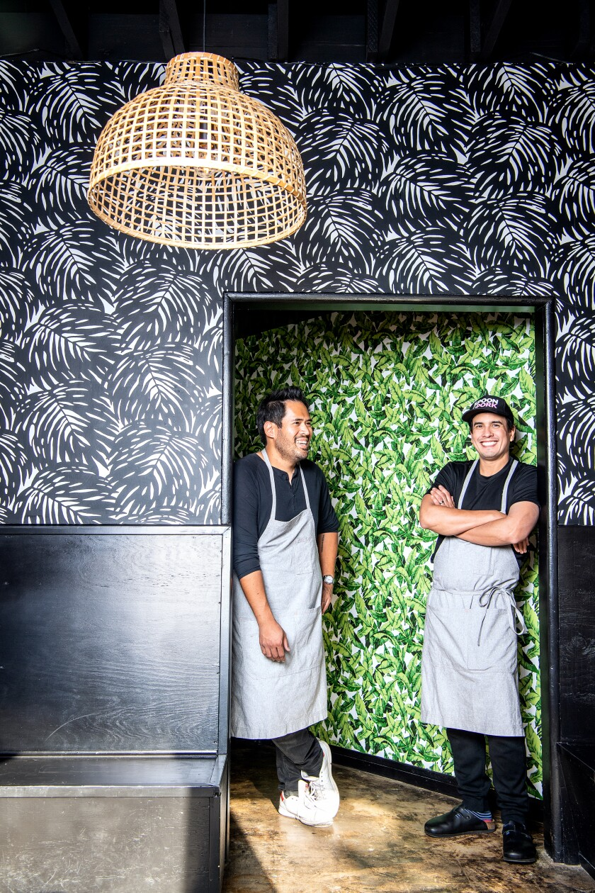Spoon & Pork co-owners Ray Yaptinchay and Jay Tugas