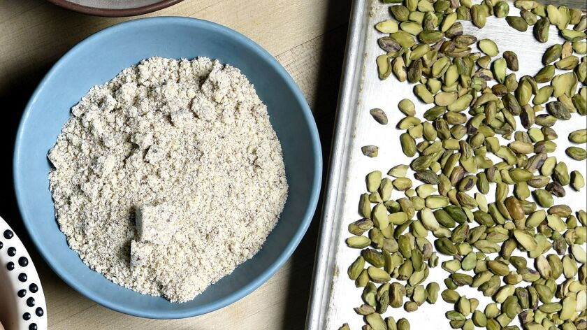 Making your own nut flours
