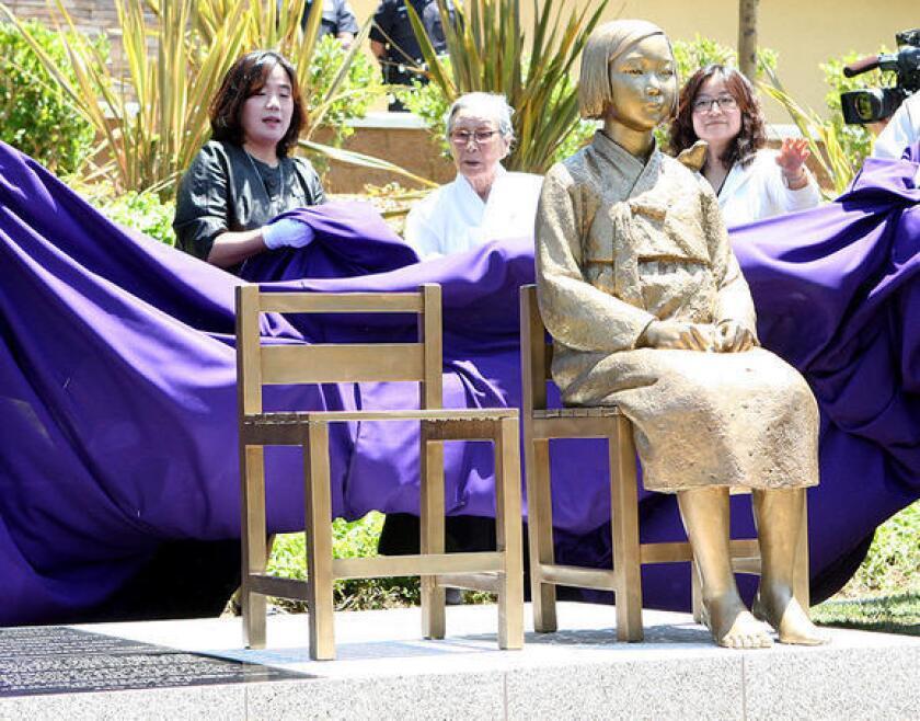 'Comfort women' memorial