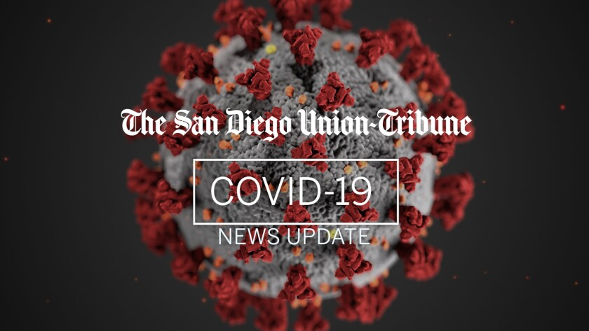 Update of COVID-19 cases in Ramona and San Diego County.