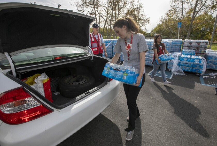 Poway water giveaway
