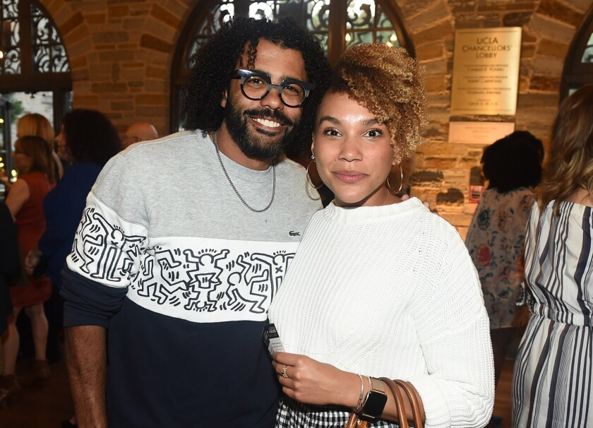 Daveed Diggs and Emmy Raver-Lampman (Photo by Jordan Strauss)