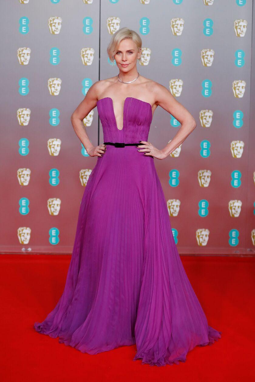 Charlize Theron at BAFTAs