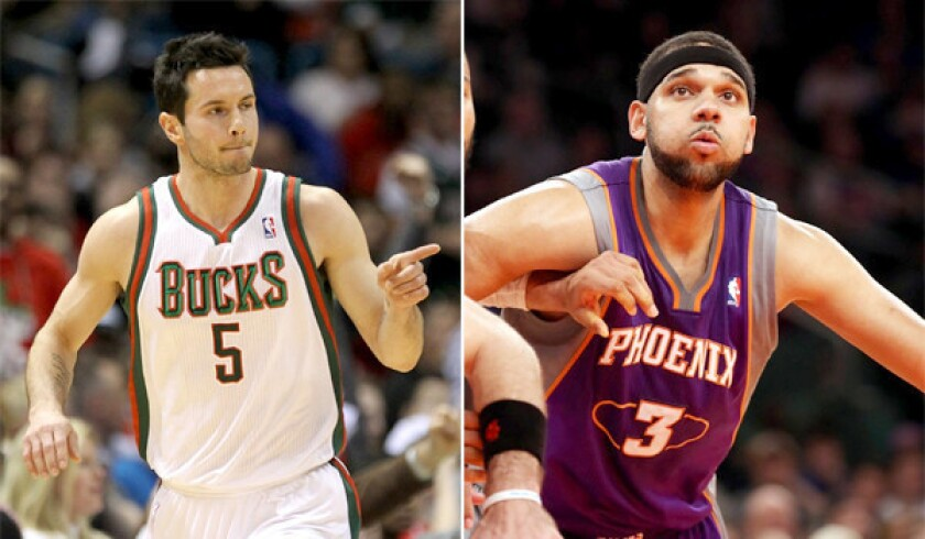 reputable site fdfce 27c3b Clippers get J.J. Redick and Jared Dudley - Los Angeles Times