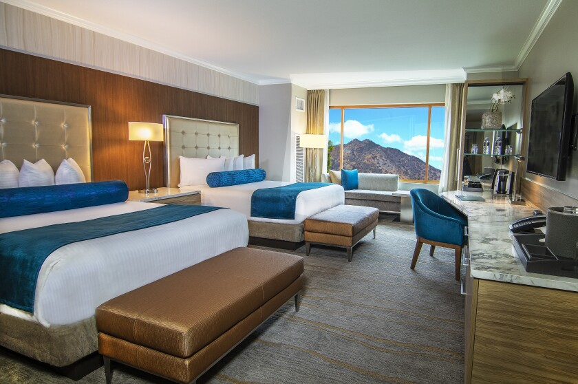 Pala Casino Spa & Resort is undergoing a floor-by-floor remodeling of its hotel rooms, giving them a more contemporary look, luxurious feel and the latest in high-tech amenities.