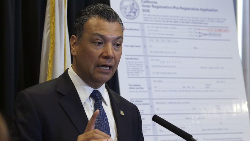 California Secretary of State Alex Padilla is urging Californians to oppose the Trump administration plan for a citizenship question on the 2020 census. Padilla has launched an online portal for Californians to submit comments through the federal registrar opposing the question.