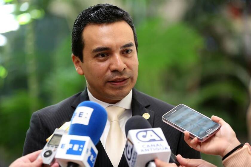 En la imagen, el viceministro de Relaciones Exteriores de la República de Guatemala, Pablo García. EFE/Archivo