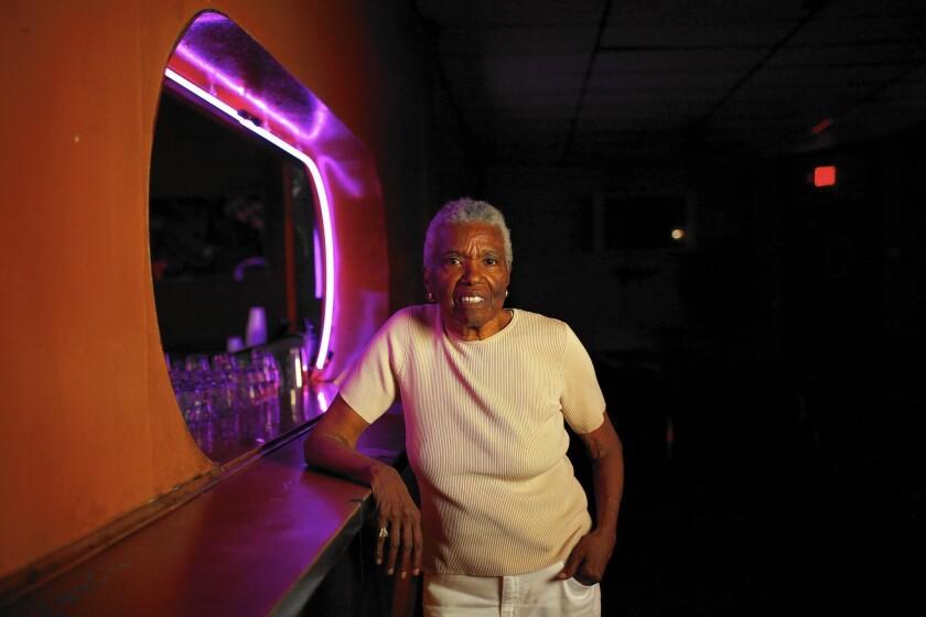 Jewel Thais-Williams, owner of the nightclub Jewel's Catch One.