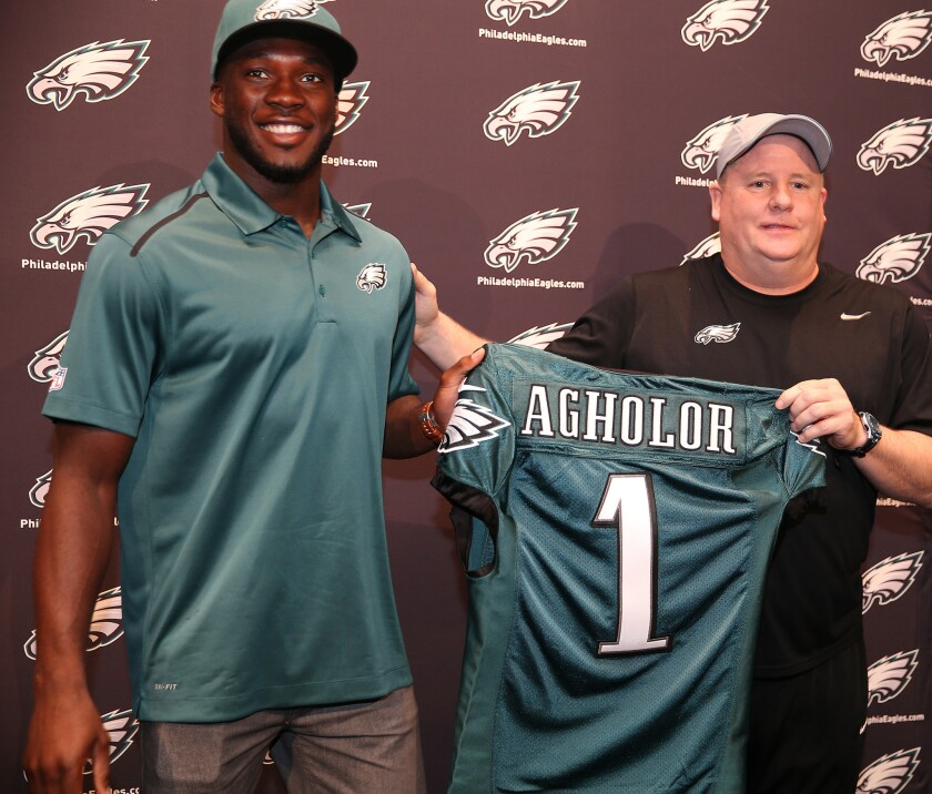 new products 148bd 47246 Nelson Agholor agrees to terms with Eagles - Los Angeles Times