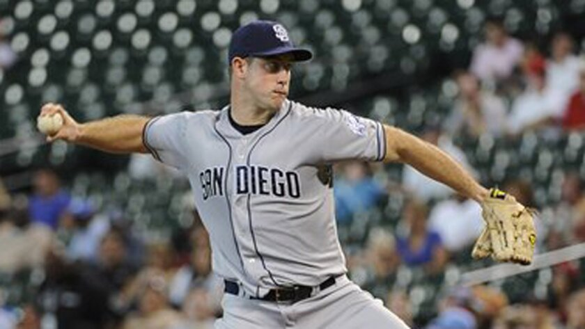 Padres pitcher Ross Ohlendorf spends the offseason working on his family's cattle ranch in Texas.