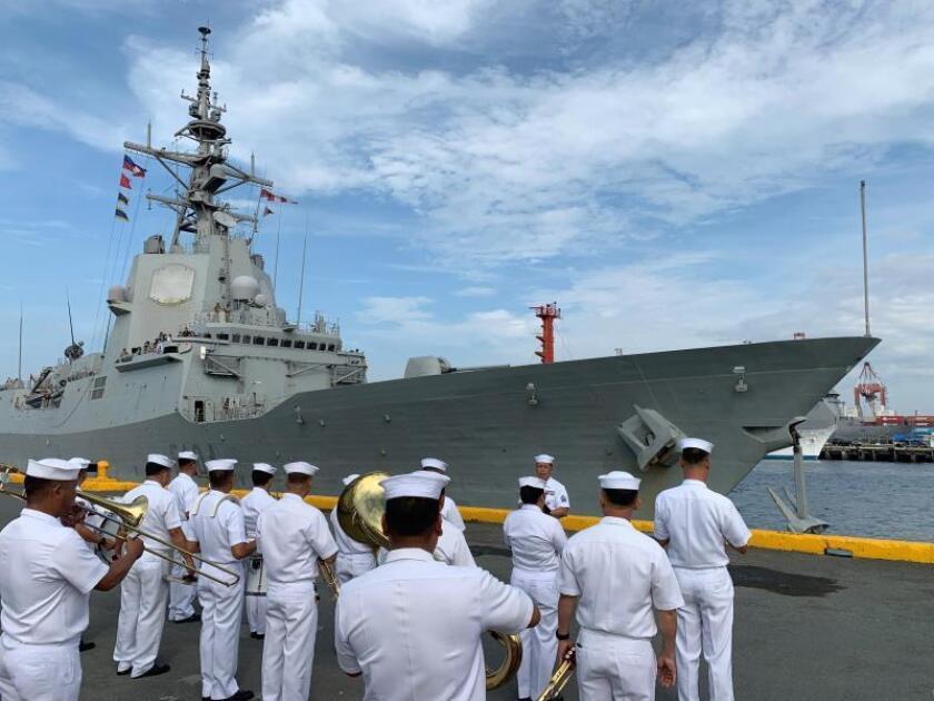 La fragata española arriba a Manila tras los pasos de Magallanes y Elcano