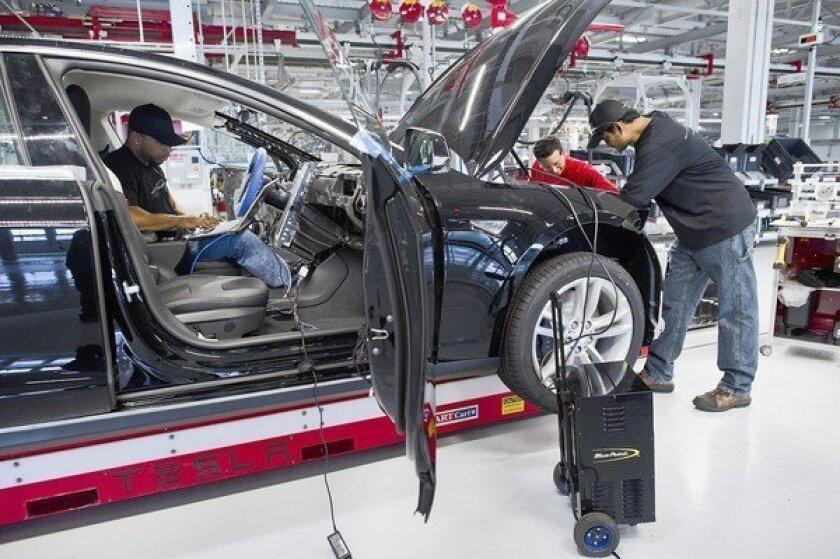 Tesla drives California environmental credits to the bank