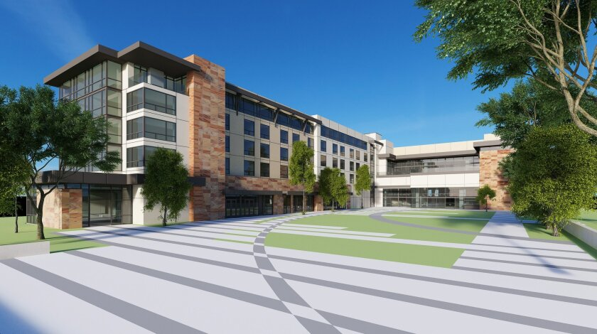 Rendering of new hotel tower at Viejas Casino & Resort