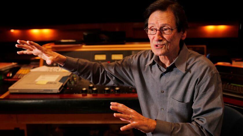 Bernie Grundman, a veteran mastering engineer, this month in his studio in Hollywood.